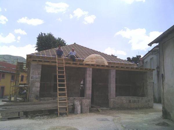 Trebinje: Sultan Ahmedova džamija diže se iz pepela