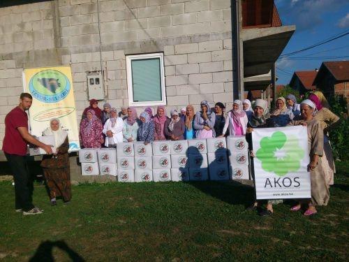 "Udruženje ""Izvor Selsebil"": Podijeljeno 68 ramazanskih paketa"