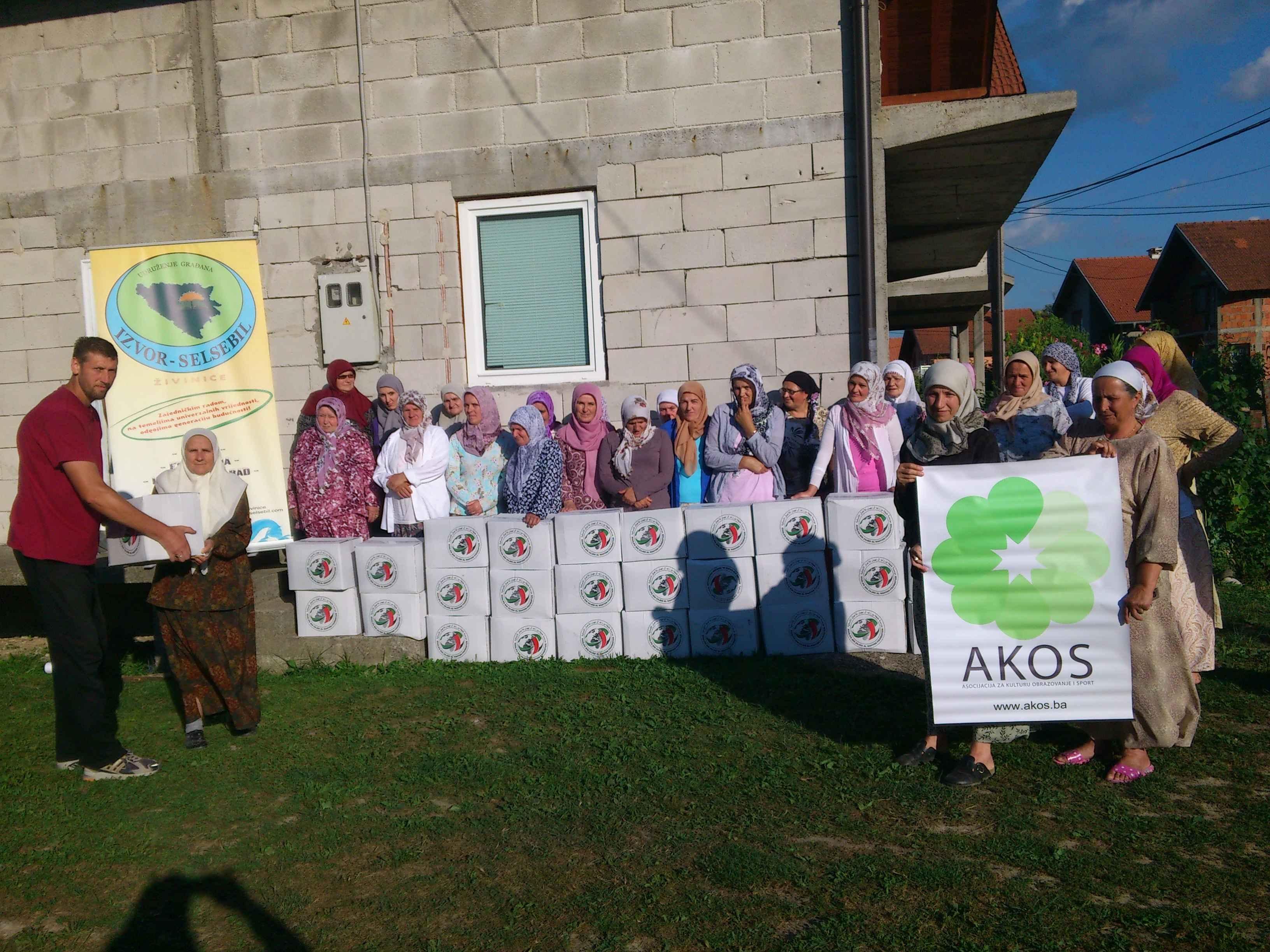 "Udruženje ""Izvor Selsebil"" Živinice: Podijeljeno 68 ramazanskih paketa"