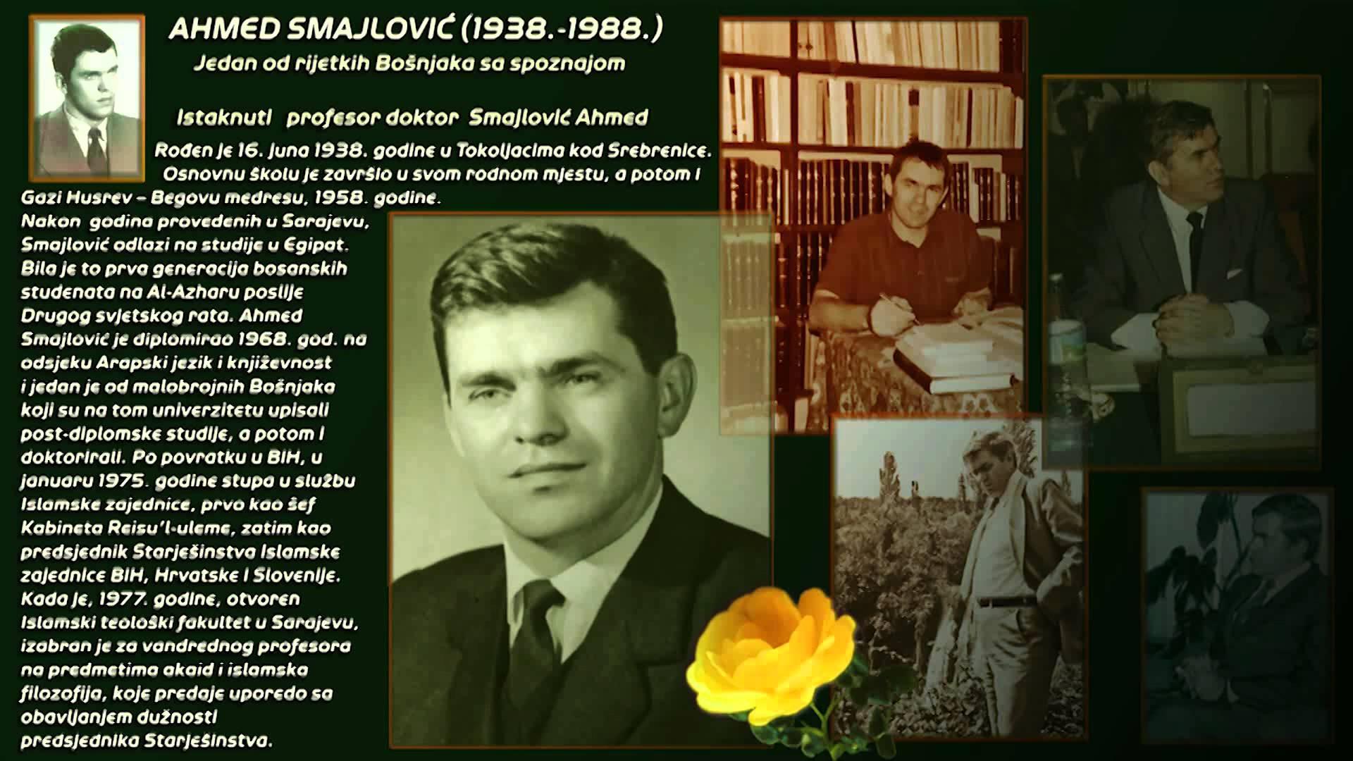 Otrgnuto iz zaborava – predavanje dr. Ahmeda Smajlovića o hidžri iz 1976. godine