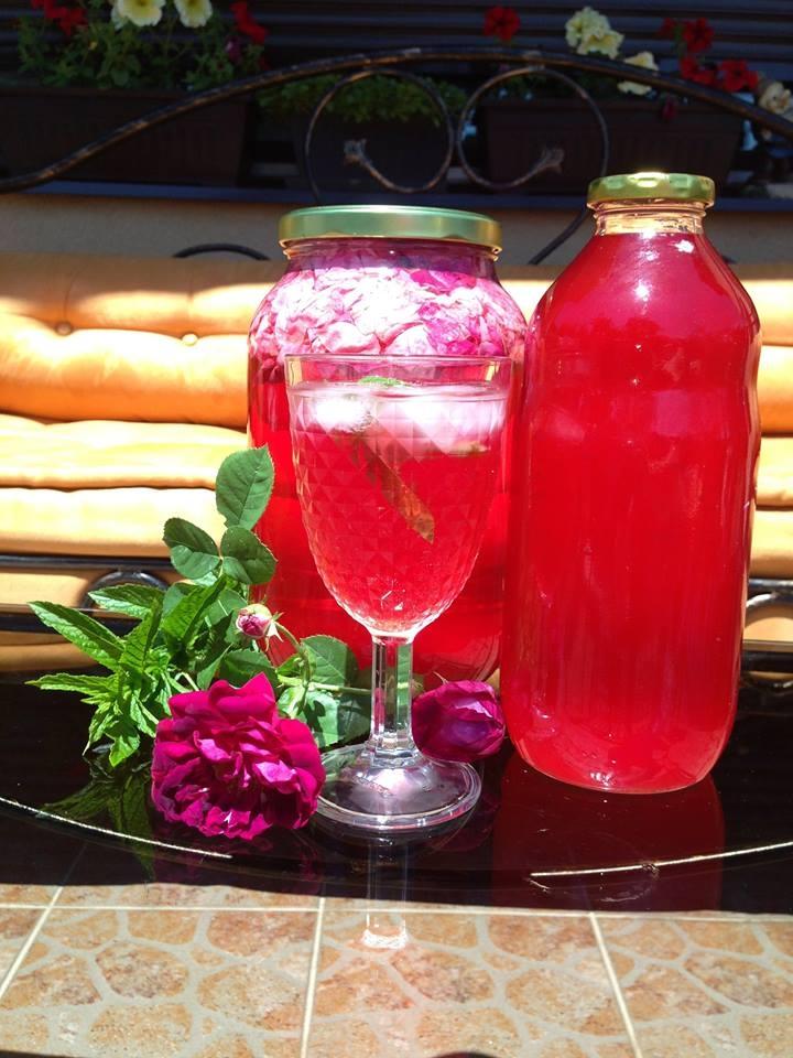 Recept za đul šerbe – sok od ruže