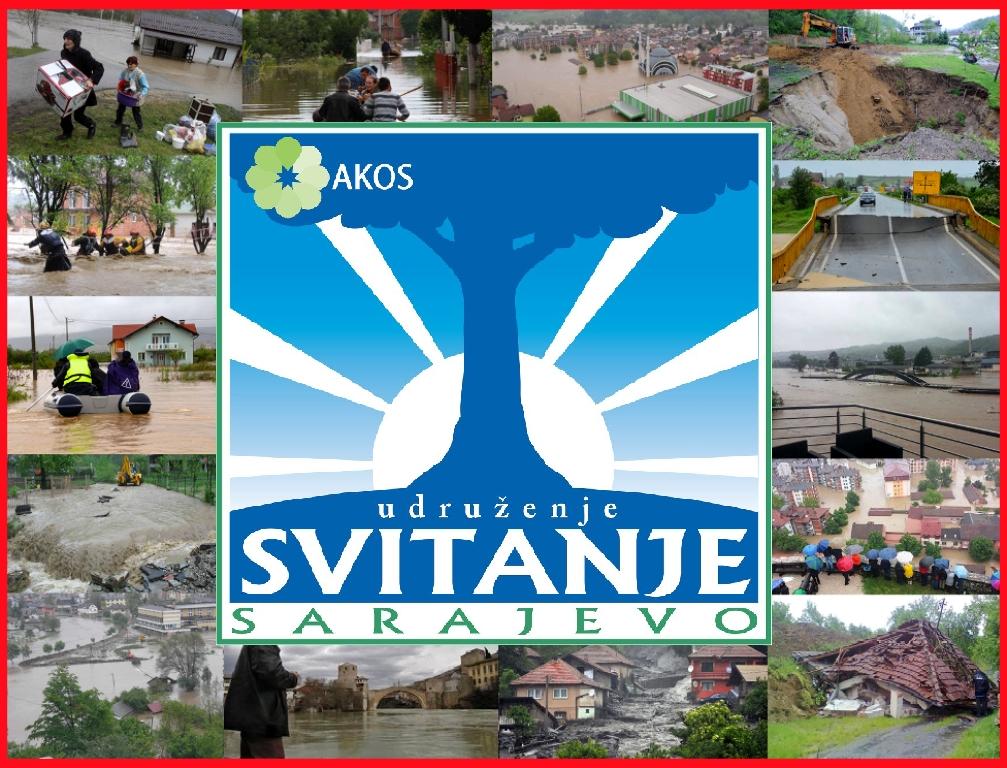 UG Svitanje organizuje humanitarnu akciju za poplavljena područja