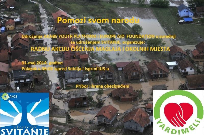 Poziv na radnu akciju čišćenja Maglaja