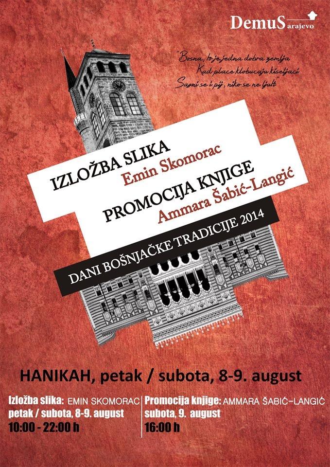 Dani bošnjačke tradicije: promocija knjige Ammare Šabić-Langić u Hanikahu