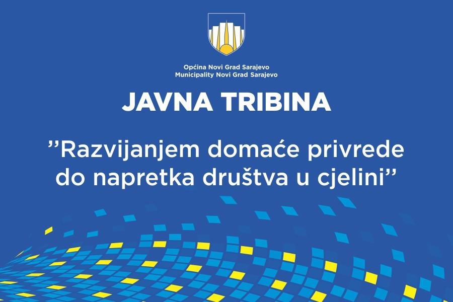 Javna tribina u općini Novi Grad: Razvijanjem domaće privrede do napretka društva u cjelini