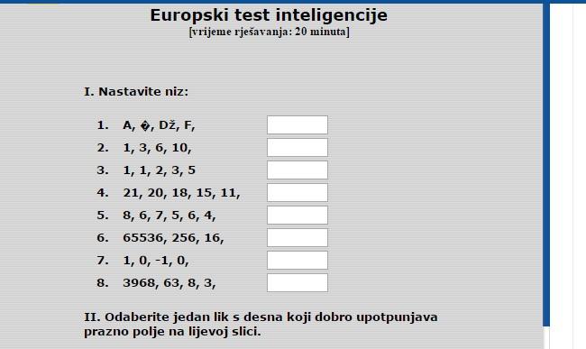 Online IQ test: Testirajte se i izmjerite vaš koeficijent inteligencije