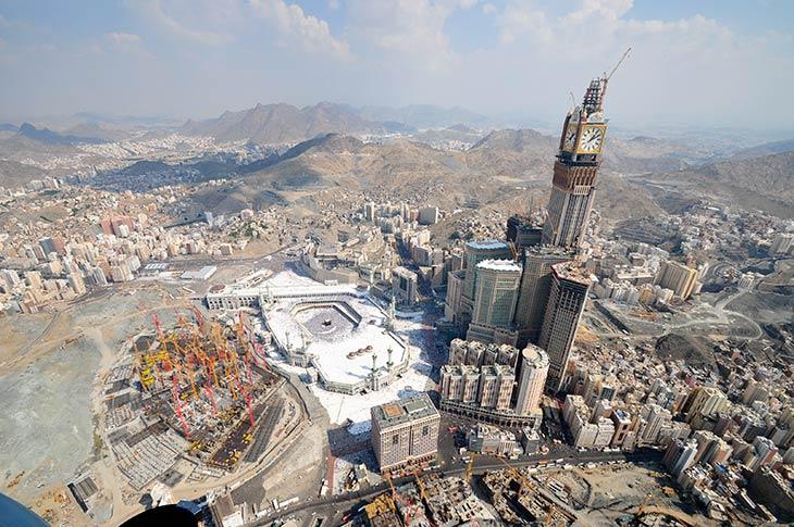 Predznak Sudnjeg dana: Podizanje nebodera u Mekki