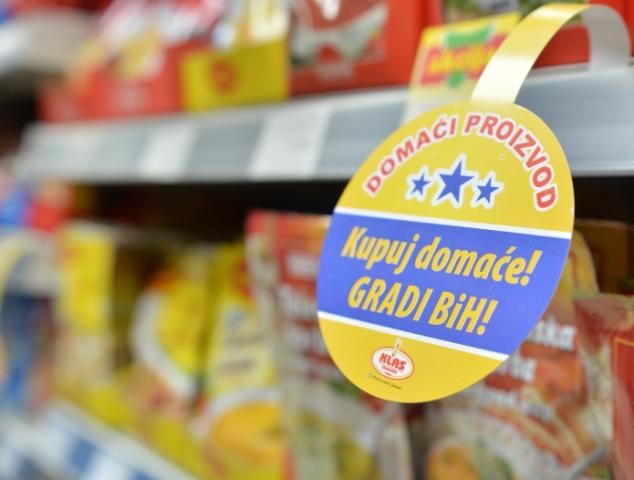 Bh. građani radije biraju uvozne supe, čokolade, mliječne proizvode
