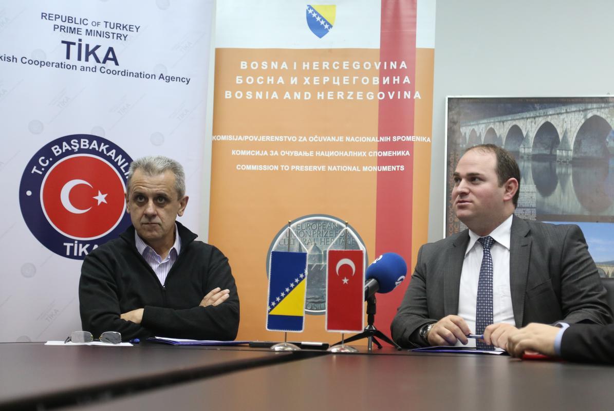 TIKA donirala kompjutersku opremu Komisiji za očuvanje nacionalnih spomenika BiH u vrijednosti od 9.900 KM