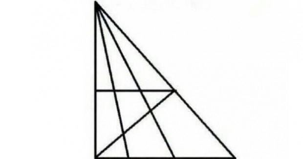 IQ test: Koliko trokuta vidite na slici?