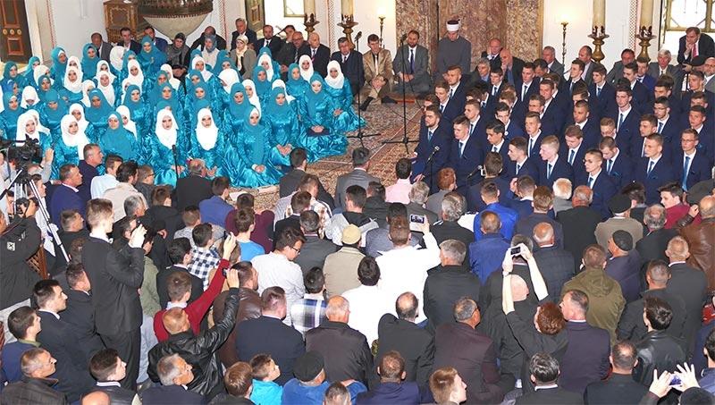 Svečana akademija Gazijine medrese: Generacija učenika koja je osvajala prva mjesta