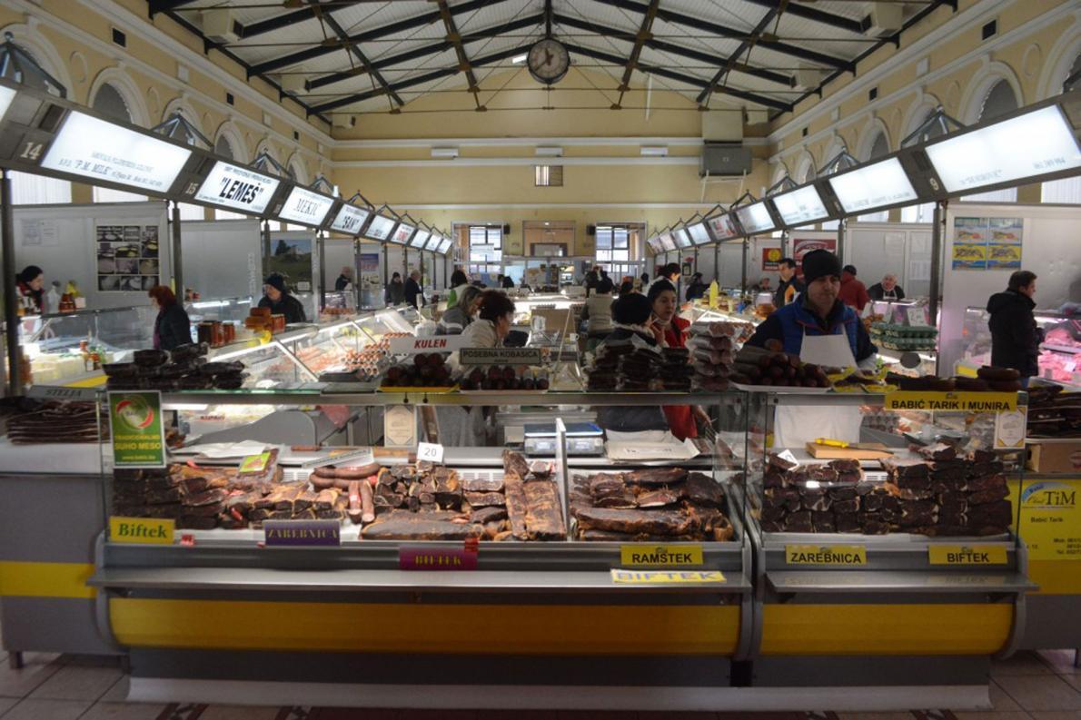 U Gradskoj tržnici Markale akcija domaćih proizvoda