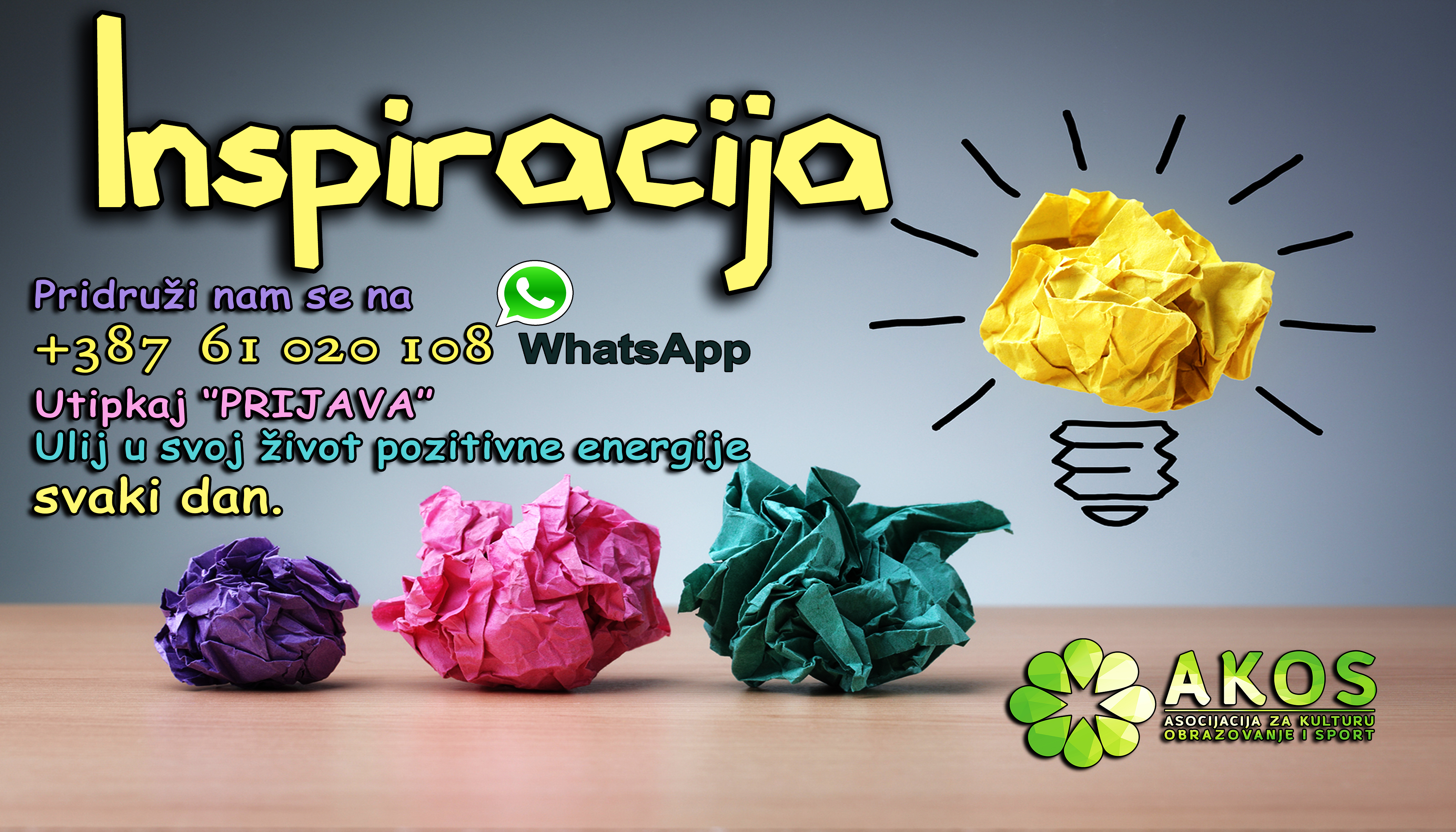 Novi ciklus #inspiracija_by_akos WhatsApp sa Zig Ziglarom