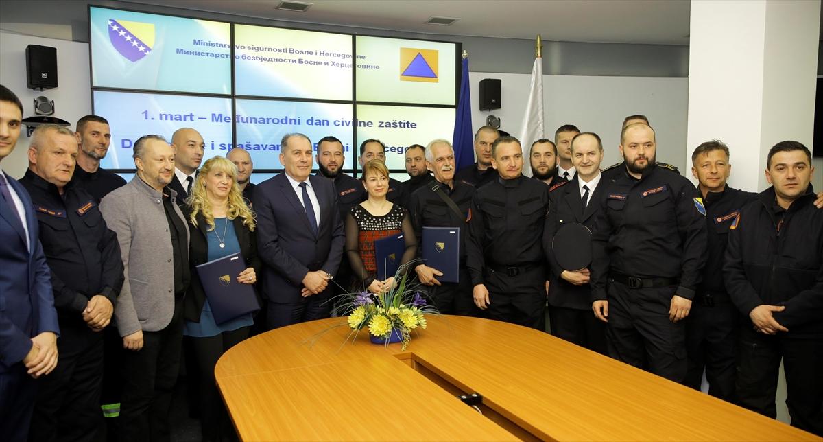 Obilježen Međunarodni dan civilne zaštite: Uručena priznanja istaknutim pojedincima i kolektivima