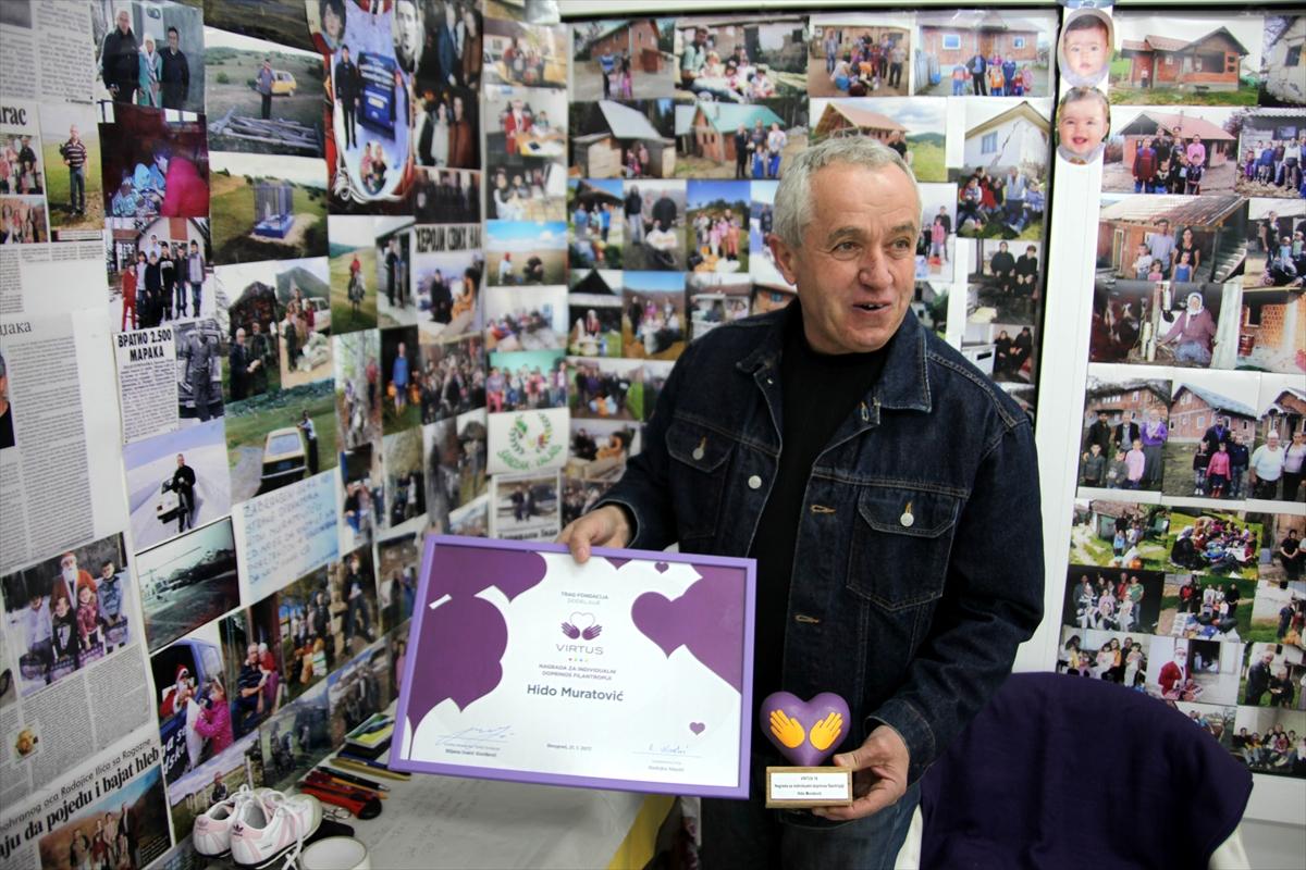 Humanitarac iz Novog Pazara Hidajet Hido Muratović: Dobro djelo je valuta koja nema cijenu