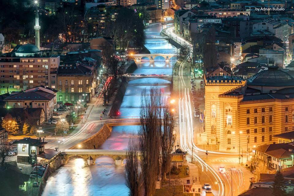 Miljacka, najmanja rijeka sa najviše mostova