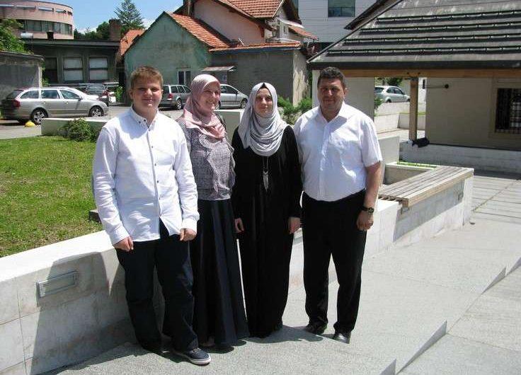 Elmedina i Ahmed: Dva hafiza tuzlanske porodice Avdibašić