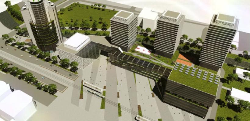 Kongresni centar Sarajevo: Usvojena odluka o izgradnji Centralnog trga