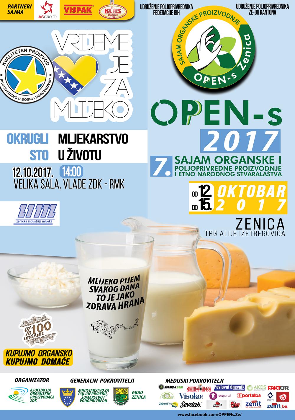 Portal Akos.ba medijski partner sajma OPEN-s Zenica