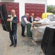 Općina Tešanj osigurala besplatne kante za odlaganje otpada za sva domaćnistva