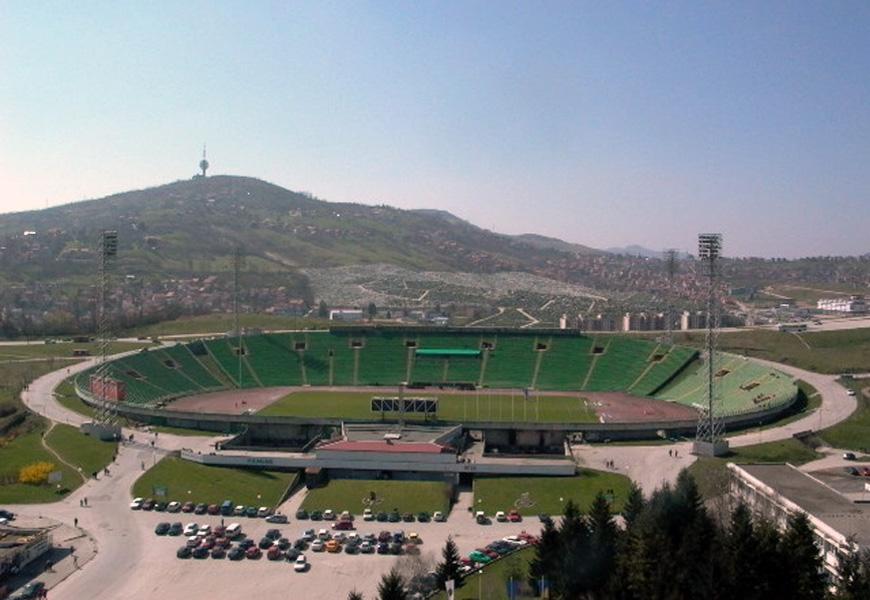 Kanton i Općina Centar: Milion KM za stadiona na Koševu