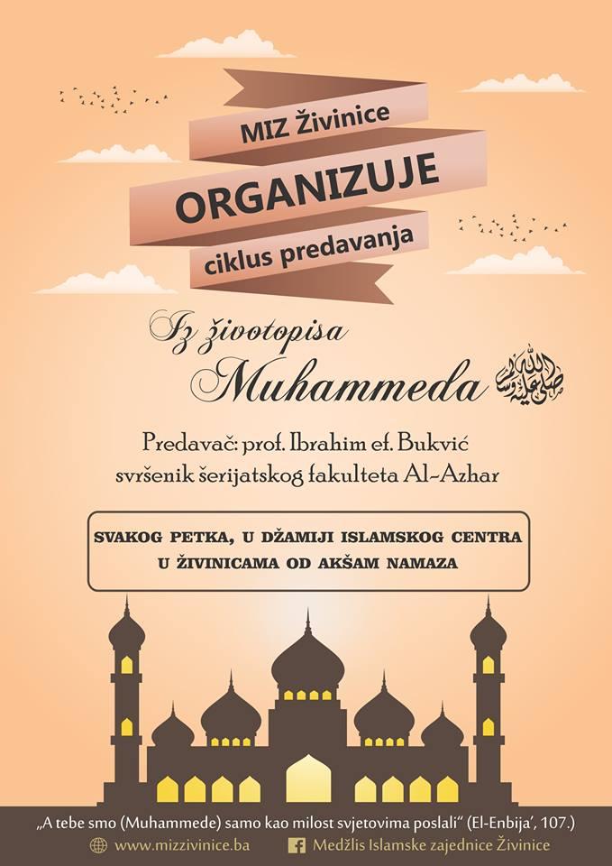 Živinice: Ciklus predavanja o životopisu Allahovog poslanika Muhammeda alejhi sselam