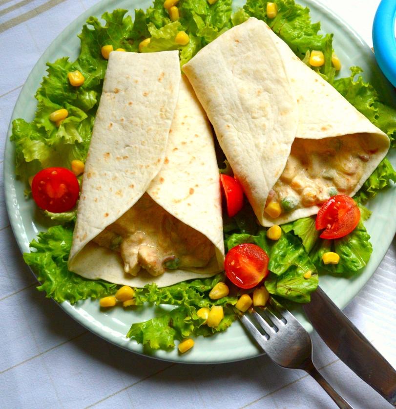 Studentski recepti: Tortilje na bijelo