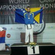 Učenik Gazijine medrese osvojio zlatnu medalju na svjetskom prvenstvu u karateu