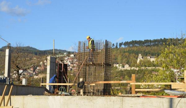 Postavljen prvi stub na trasi Trebevićke žičare