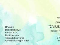 """Promocija knjige""""Civilizacije i gradovi""""autoraAhmeta Davutoğlua"""
