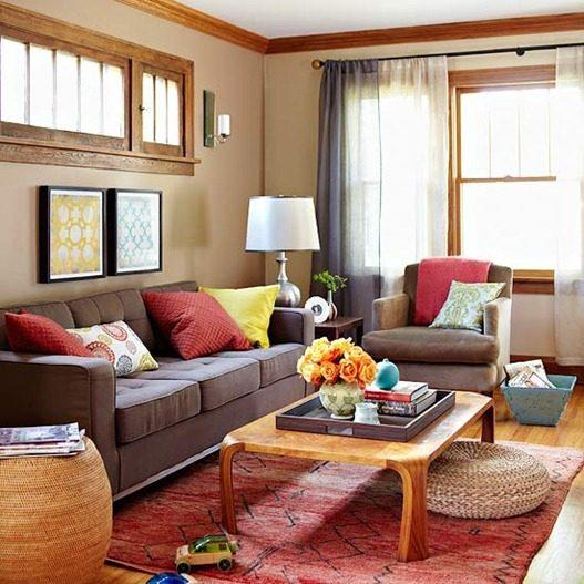 Hladne i tople boje u prostorijama