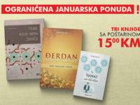 Ne propustite ograničenu januarsku ponudu knjiga