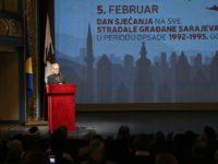 Komemorativnom sjednicom obilježen Dan sjećanja na sve poginule građane Sarajeva