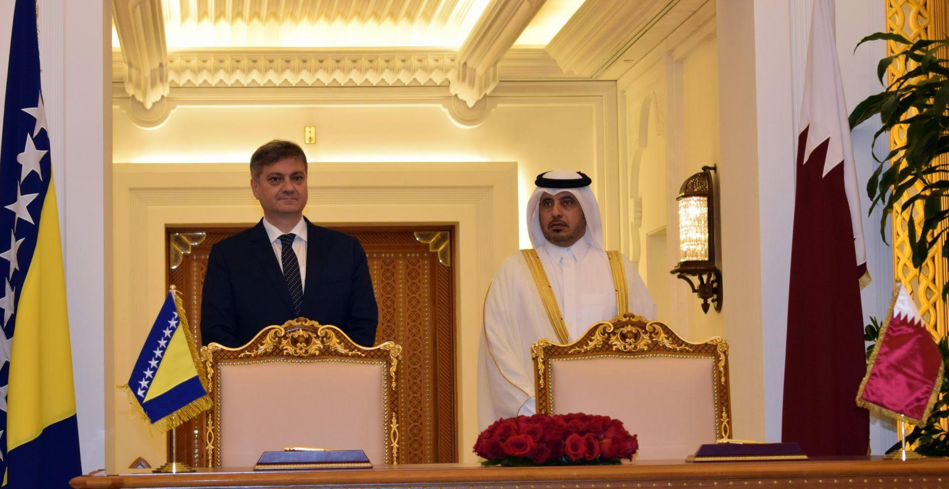 BiH i Katar jačaju saradnju u oblasti zdravstva, obrazovanja i mladih