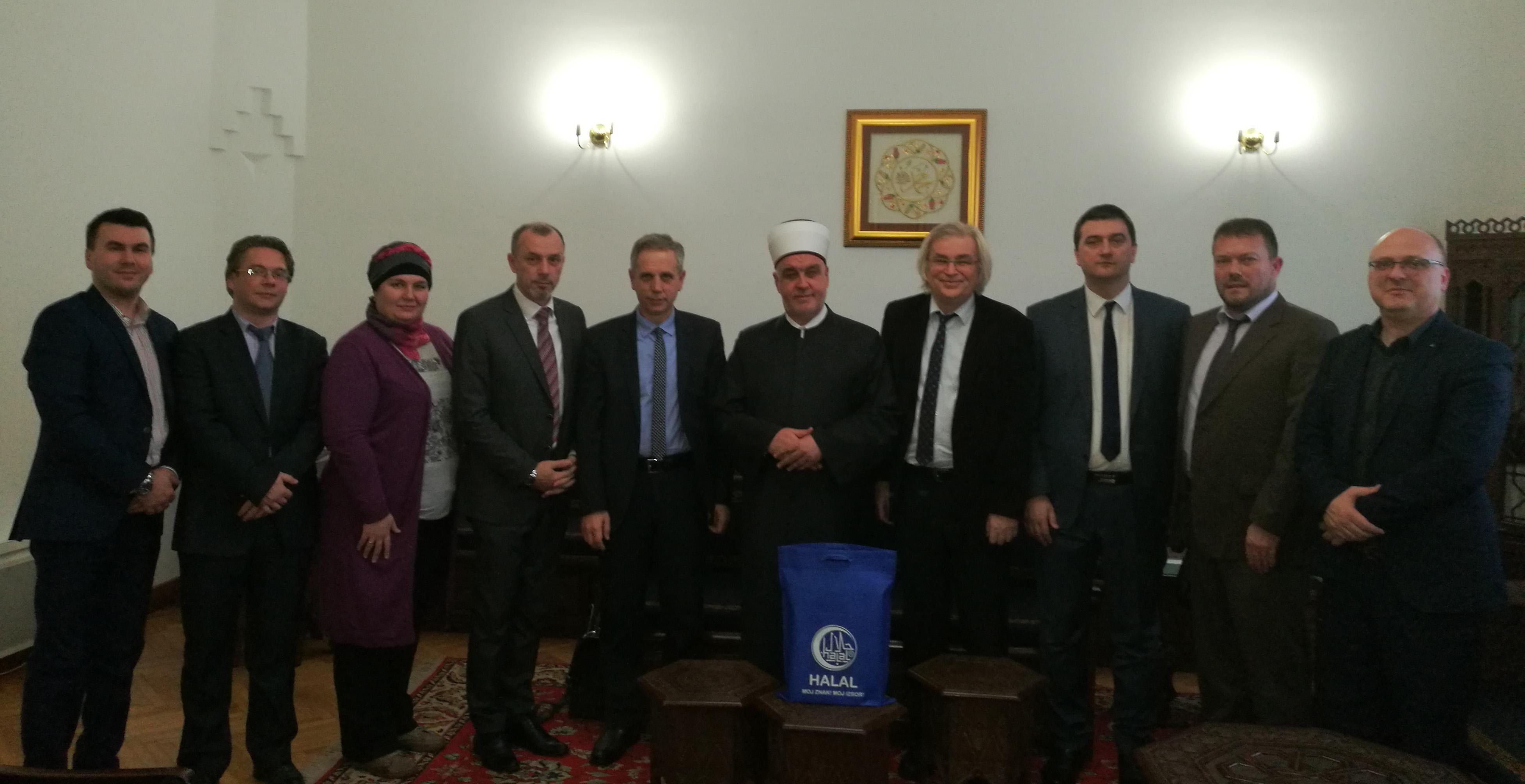 Reisul-ulema primio upravu i uposlenike Agencije za certificiranje halal kvalitete