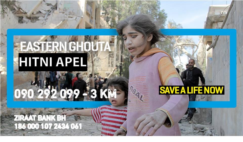 Apel Islamic Reliefa: Hitni poziv za pomoć Guti (Sirija)