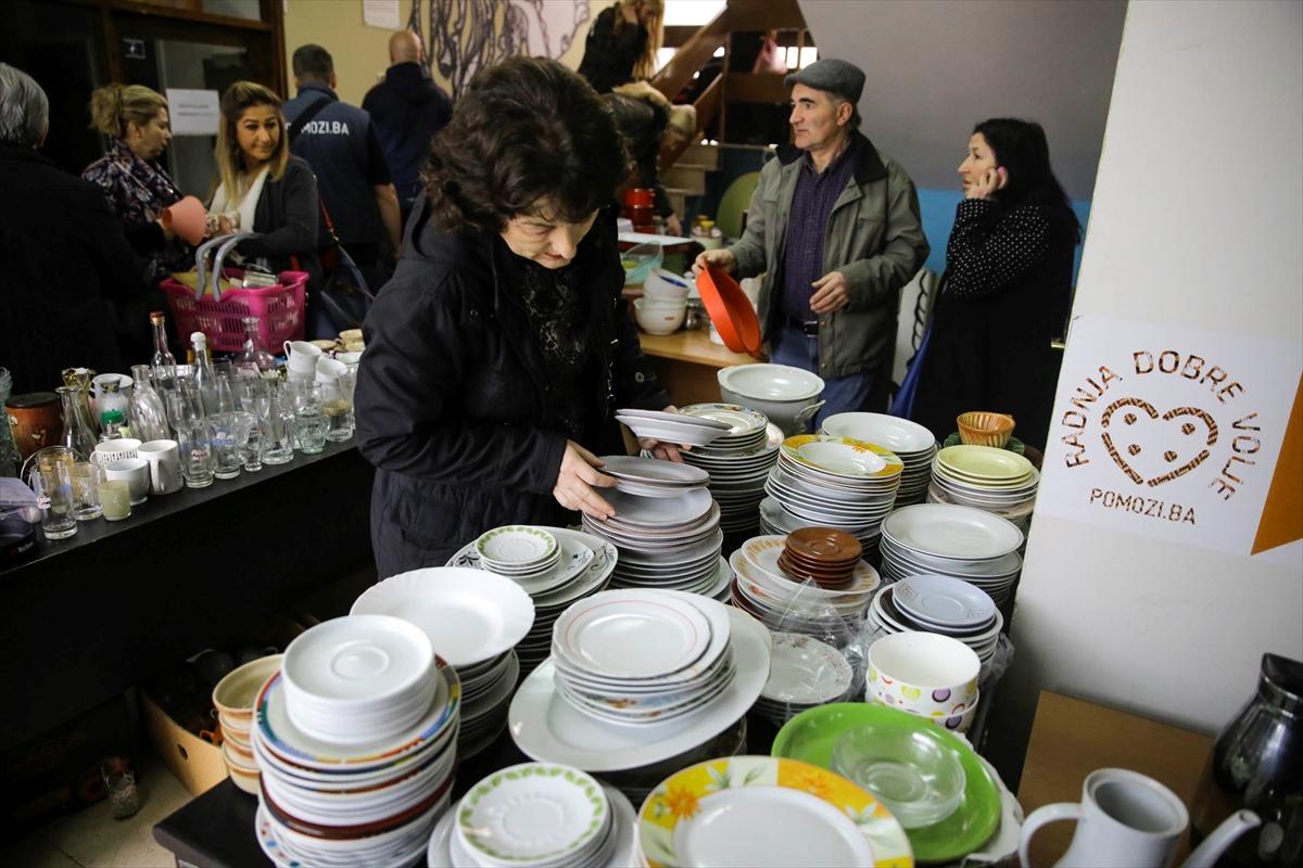 """Humanitarni bazar """"Dobre volje"""" u Sarajevu: Pomoć djeci u Guti i migrantima u BiH VIDEO"""