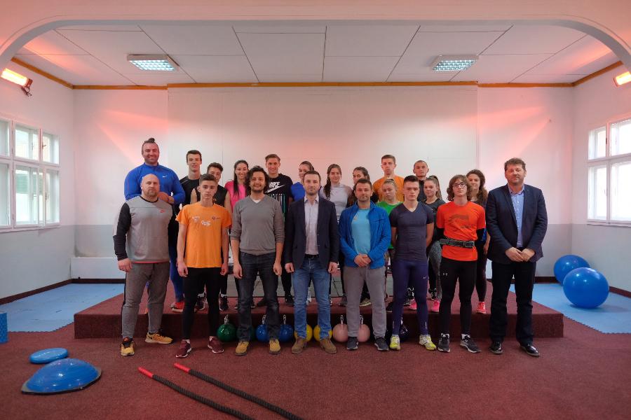 """Novo u Centru """"Safet Zajko"""": Atletska teretana za treniranje i u zimskim mjesecima"""