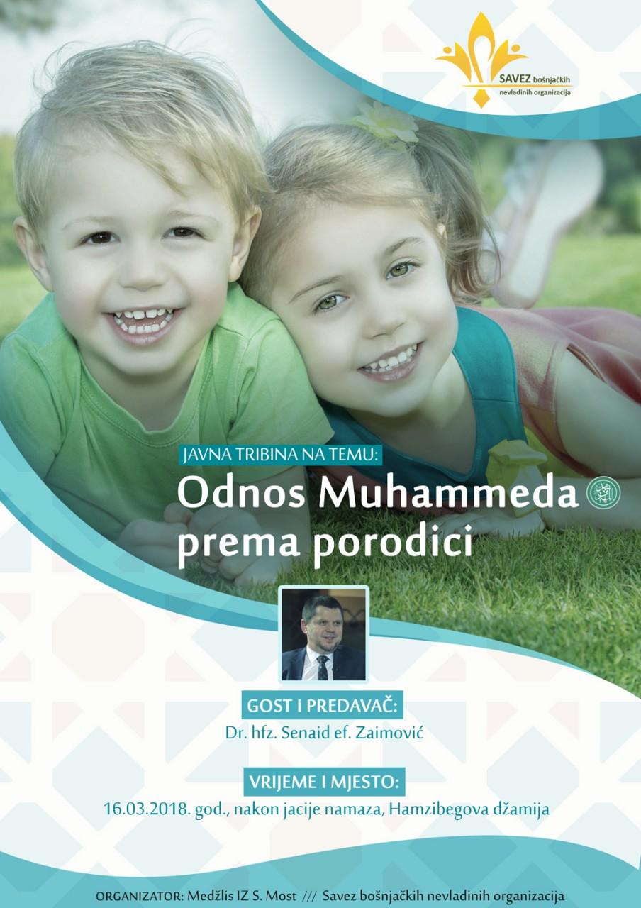 Predavanje u Sanskom Mostu: Odnos Muhammeda, a.s., prema porodici – dr. Senaid Zaimović