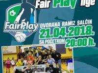 Sve je spremno za finale Fair play lige 2018