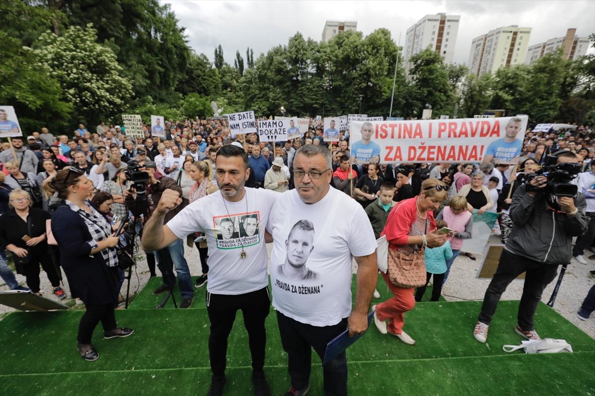Sarajevo: Održani protesti povodom smrti Davida i Dženana