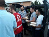 Unija studenata Univerziteta Džemal Bijedić organizovala humanitarnu akcija za migrante u Salakovcu