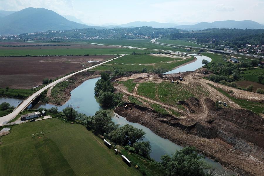 Regulacijom korita Bosne smanjit će se poplave u Sarajevskom polju
