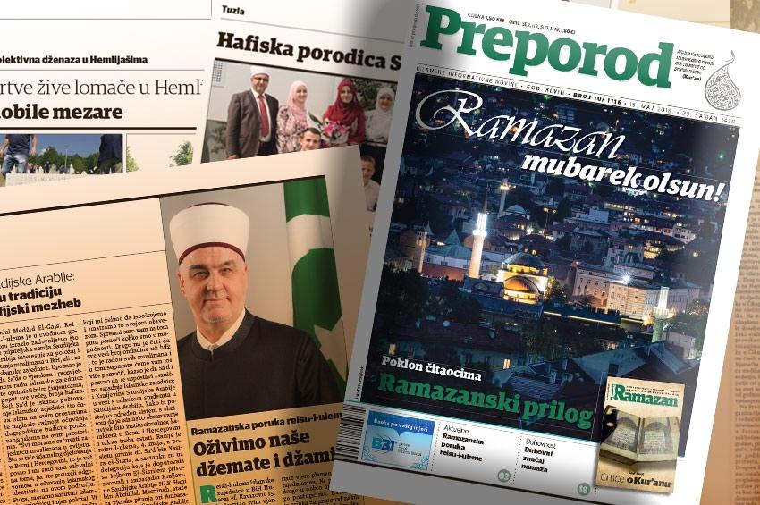 Predramazanski Preporod: Oživimo naše džemate i džamije
