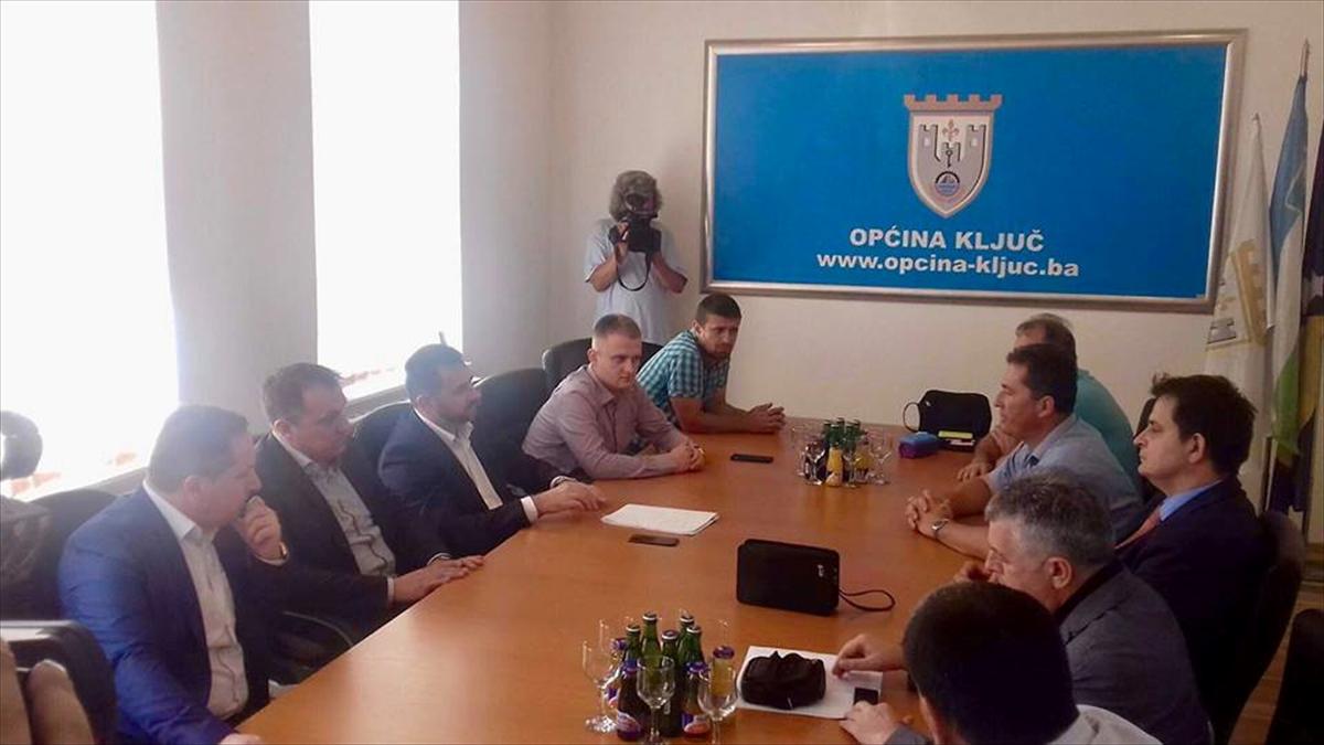 Ramić i Dedić u Krajini: Osam novih projekata u Ključu i Sanskom Mostu