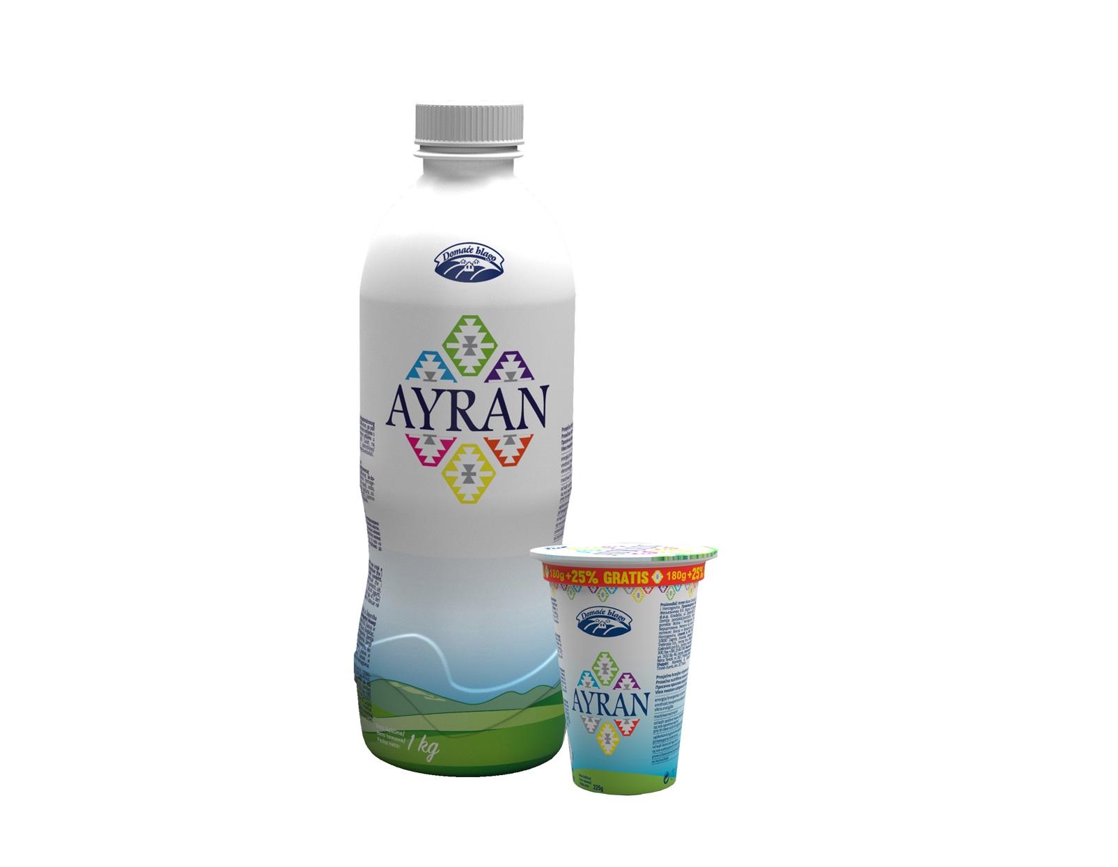 Novi proizvod iz Gradačakog Inmera: Domaće blago Ayran