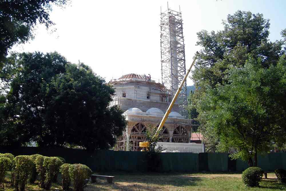 Aladža džamiji u Foči: I kada je bila srušena, iz njenog pravca se razlijegao ezan