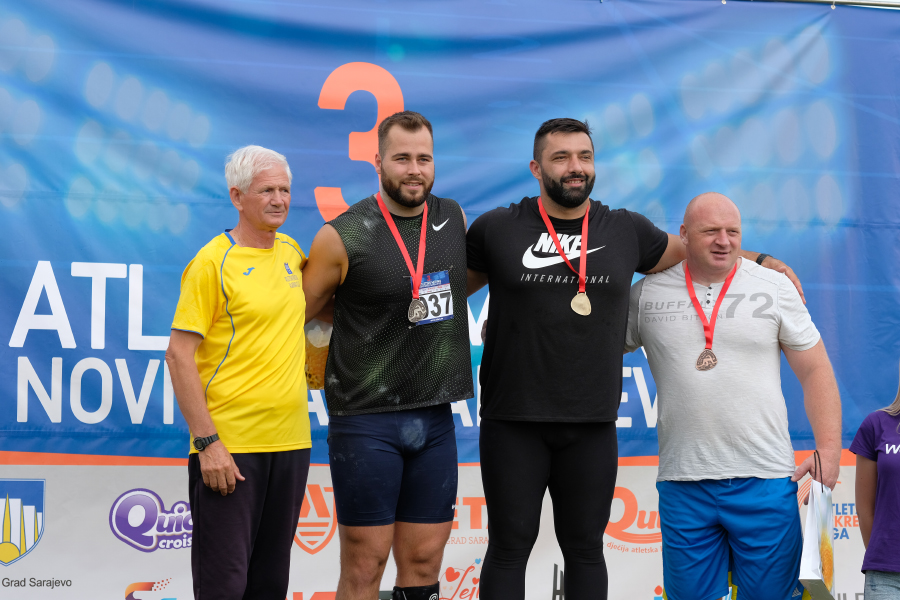 Na 3. Atletskom mitingu – četiri olimpijca u bacanju kugle