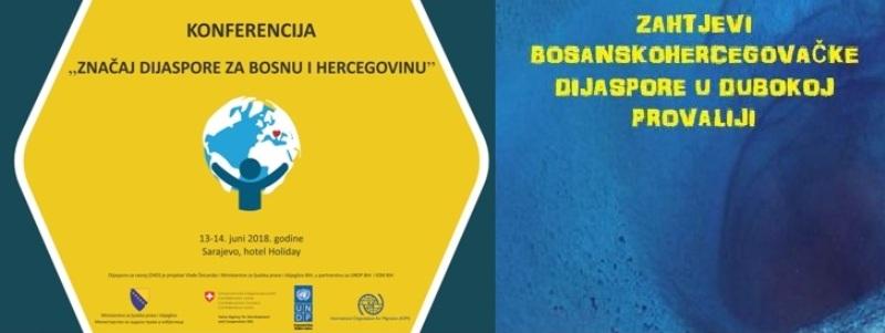 U Sarajevu 13. i 14. juna konferencija Značaj dijaspore za Bosnu i Hercegovinu