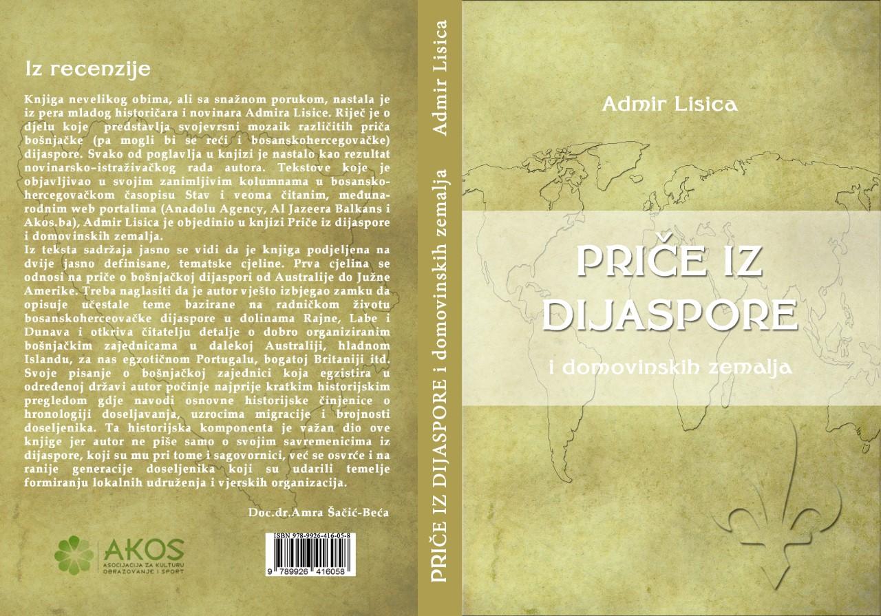 Knjiga, Priče iz dijaspore, naslovnica-finalno